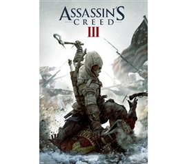 Great For Game Lovers - Assassins Creed III Poster - Cool Video Game Poster