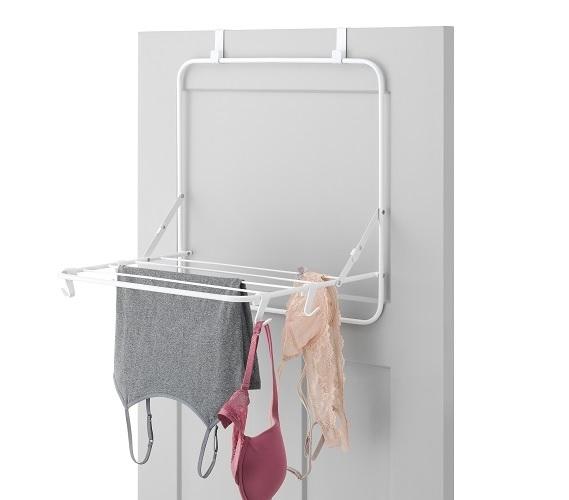 Over The Door Drying Rack Cool Dorm Supplies Space Saving Dorm