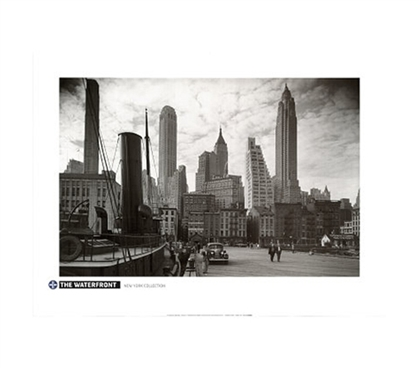 New York Waterfront Collection For College - Poster Essentials