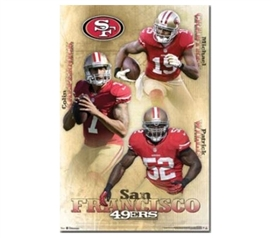 Shopping For College - San Francisco 49ers Poster - Decorate Your Dorm Room