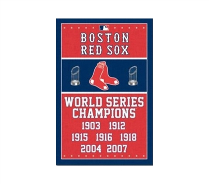 Decorate Your Dorm - Boston Red Sox Champs Poster - Support Your Team