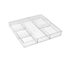 6 Section Dorm Drawer Organizer Dorm Room Storage Dorm Organizer