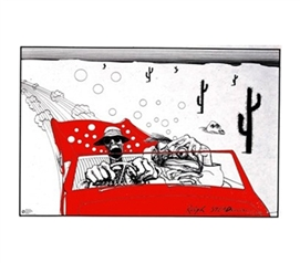 Ralph Steadman Fear & Loathing - Movie Style Wall Poster