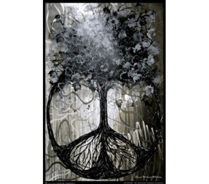 Tree Of Peace Poster Products For College Dorm Room