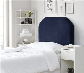 Mo' Bunny Love College Headboard - Plush Chunky Navy