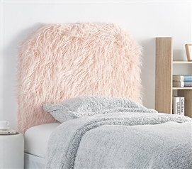 Mo' Unruly Plush College Headboard - Calm Rose Quartz