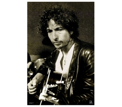 Bob Dylan Guitar Dorm Room Wall Decor Poster Wall Decor Essentials