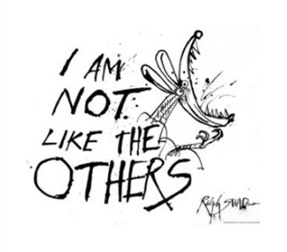 Ralph Steadman - I'm Not Like Others Poster - Dorm Decor