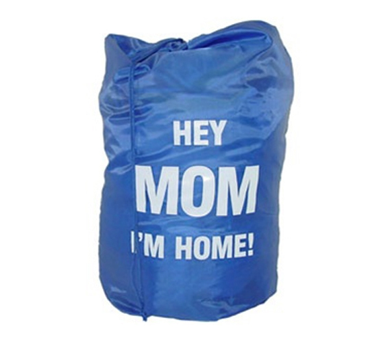 hey mom i'm home laundry bag - high school graduation gag gift