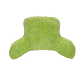 Lime Green Dorm Room Poodle Bedrest - Comfortably Cozy College Decor