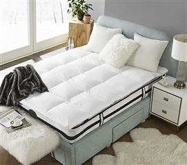 Sized to fit twin long college beds!