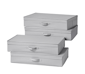 TUSK Underbed Folding Box 4-Pack - Alloy