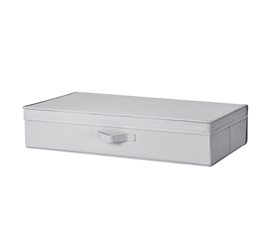 Underbed Folding Box - TUSK College Storage - Alloy