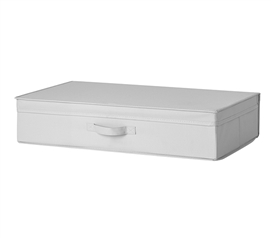 Underbed Folding Box - TUSK College Storage - Glacier Gray