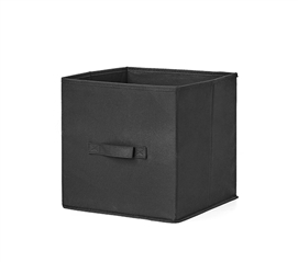 Durable TUSK Dorm Storage Item Black Fold Up Cube for Essential College Supplies Storage
