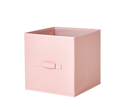 Durable Dorm Room Storage Ideas Sturdy TUSK Rose Quartz Pink College Fold Up Cube Storage