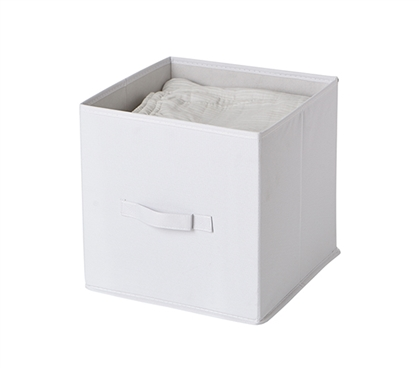 Fold Up Cubes - TUSK College Storage - White