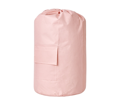 Durable TUSK Dorm Room Laundry Backpack Pretty Rose Quartz Pink College Storage Solutions
