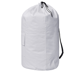 Laundry Backpack - TUSK College Storage - White