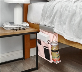 Bedside Caddy - TUSK® College Storage - Rose Quartz