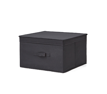 Jumbo Storage Box - TUSK® College Storage - Black (1 unit)