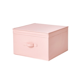 Pink Dorm Supplies Jumbo Dorm Storage Box TUSK Rose Quartz College Item for Under Twin XL Dorm Bed