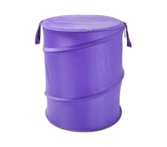 Purple Bongo Durable Dorm Laundry Hamper College Dorm