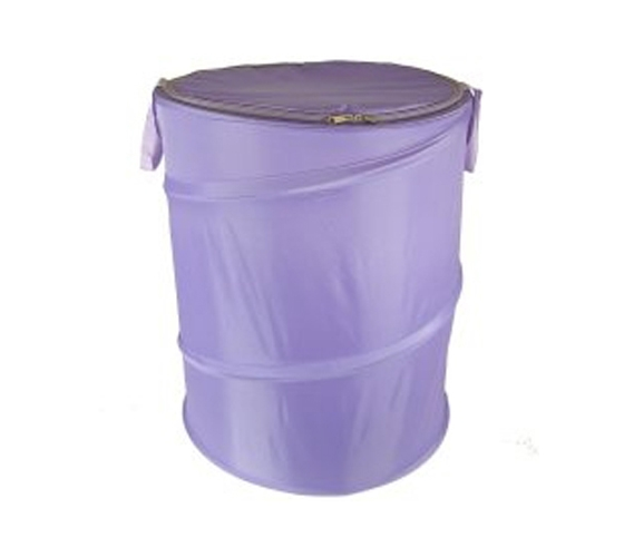 lavender bongo - durable dorm laundry hamper college laundry