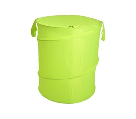 Lime Green Bongo - Durable Dorm Laundry Hamper - Durable And Colorful