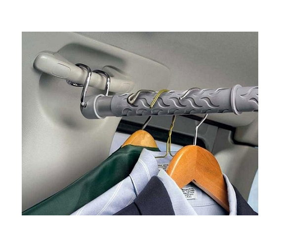 Quick Pack Up Car Clothes Bar