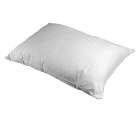 300TC Down Alternative Pillow - 100% Cotton Dorm Bedding Pillow & Room Decoration