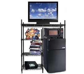 Organizing Tool - The Shelf Supreme - Adjustable Shelving - Spacious Dorm Room