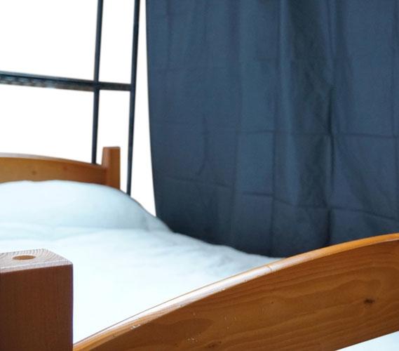 over the bed shelf supreme privacy frame - Dorm Bed Frame
