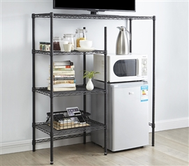 The Shelf Supreme - Adjustable Shelving - Gunmetal Gray