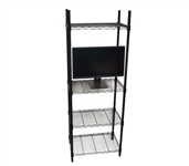 The TV Stand Shelf Supreme - Adjustable Shelving Dorm Furniture