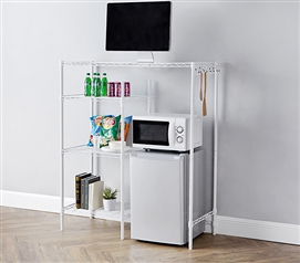 The Shelf Supreme - Adjustable Shelving - White