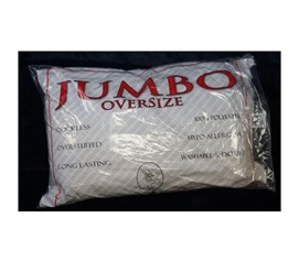 Dorm Bedding Essentials - USA-Made Jumbo Pillow