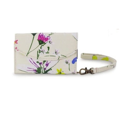 Dorm Accessories - Heritage Floral Smartphone And ID Wristlet