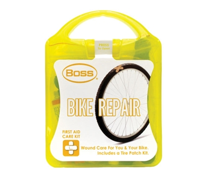 First Aid Care Kit - Bike Repair and Wound Care