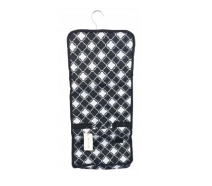 Dorm Storage Solutions Quatrefoil Black - Cosmetic Bag Must Have Dorm Items