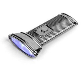 Don't Be Caught In The Dark - Flat Light Flashlight - Cool Dorm Stuff
