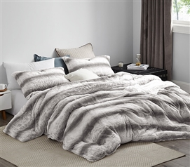 Northeast Beast Extra Long Twin Comforter Soft Plush Coma Inducer Dorm Bedding Essentials
