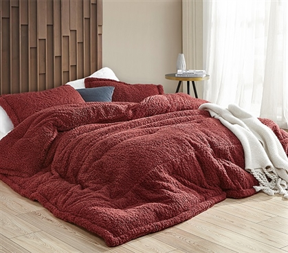 Burgundy Extra Long College Comforter Coma Inducer Foxy Fine Syrah Ultra Soft Twin XL Bedding