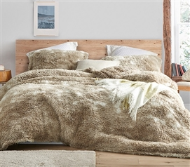 High Quality Coma Inducer Dorm Bedding Really Dogg Soft Plush College Oversized Comforter with Standard Dorm Pillow Shams