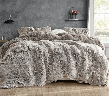 Are You Kidding - Coma Inducer Twin XL Comforter - Frosted Chocolate