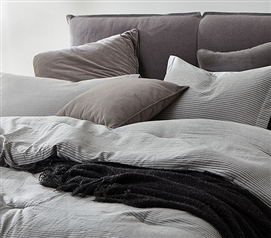 Native Stripe Twin XL Comforter - 100% Yarn Dyed Cotton