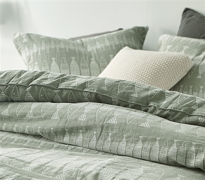 Village Pisces Twin XL Comforter - 100% Yarn Dyed Cotton