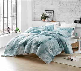 Brucht Designer Supersoft Twin XL Comforter - Moonrise - Blue/Gray