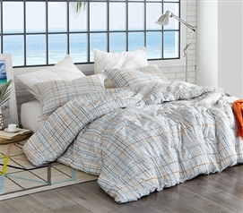Colorful Twin Extra Long Bedding Set Lahaina Oversized College Comforter Made with Soft Cotton