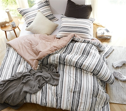 Unique Extra Long Twin Bedding Set Smyth West Designer Comforter Made with Comfy Cotton